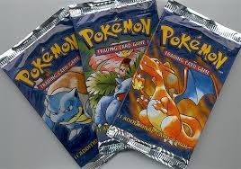 Loved opening up the original Pokemon Card packs as a kid.