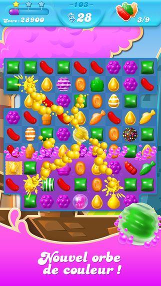 """Application du Jour : """"Candy Crush Soda Saga"""" est à télécharger GRATUITEMENT aujourd'hui ! Profitez-en !"""