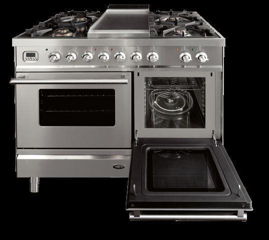 Fornuis met oven en combimagnetron | Boretti