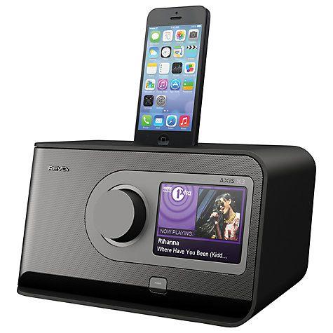 Buy Revo AXiS X3 DAB/FM Wireless Bluetooth Internet Radio Dock with Apple Lightning Online at johnlewis.com