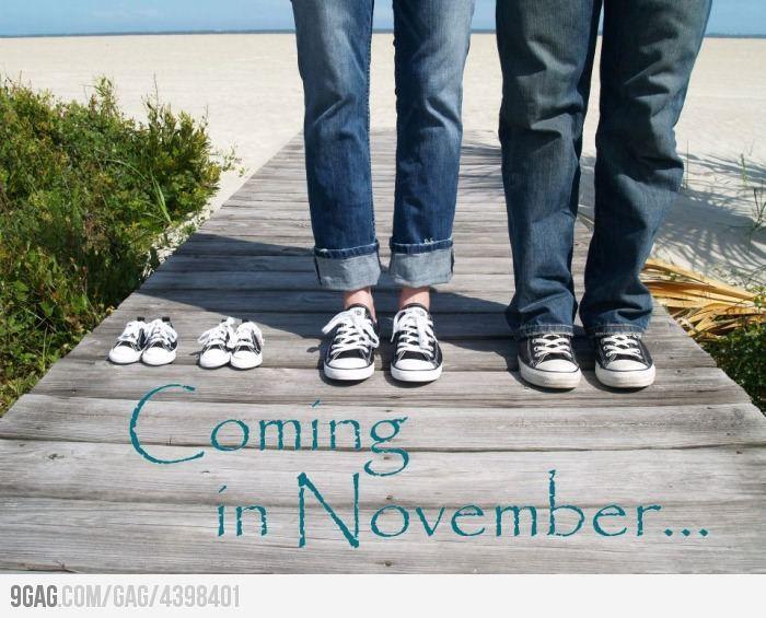 Pretty much the cutest announcement...