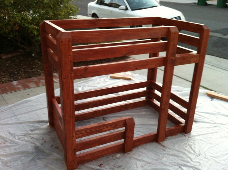 toddler sized bunk bed bed toddler pinterest in pictures rope ladder and beds. Black Bedroom Furniture Sets. Home Design Ideas