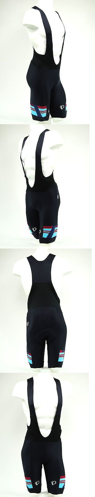 Shorts 177853: Pearl Izumi 2017 P.R.O. Pro Escape Cycling Bib Shorts Black/Tibetan Red, Large BUY IT NOW ONLY: $107.88