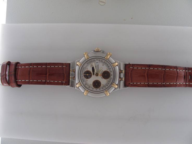 18k Gold and Steel Men's Krieger Chronograph Wristwatch *pricing available upon request click for link*