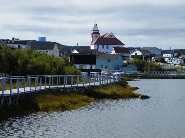 Old Days Pond Boardwalk - Bonavista, Newfoundland, CA