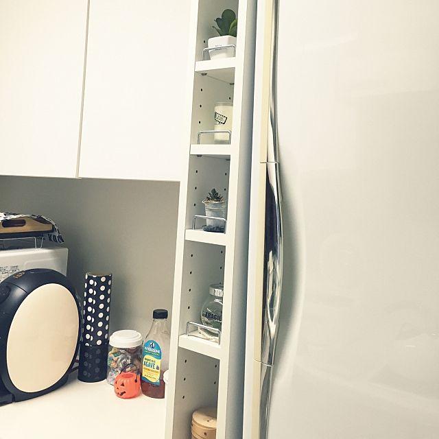 キッチン×スリムストッカーのまとめページ | RoomClip (ルームクリップ) 「キッチン×スリムストッカー」のインテリア実例