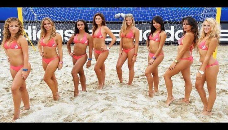 Las despampanantes porristas del Mundial de Fútbol Playa. #trome