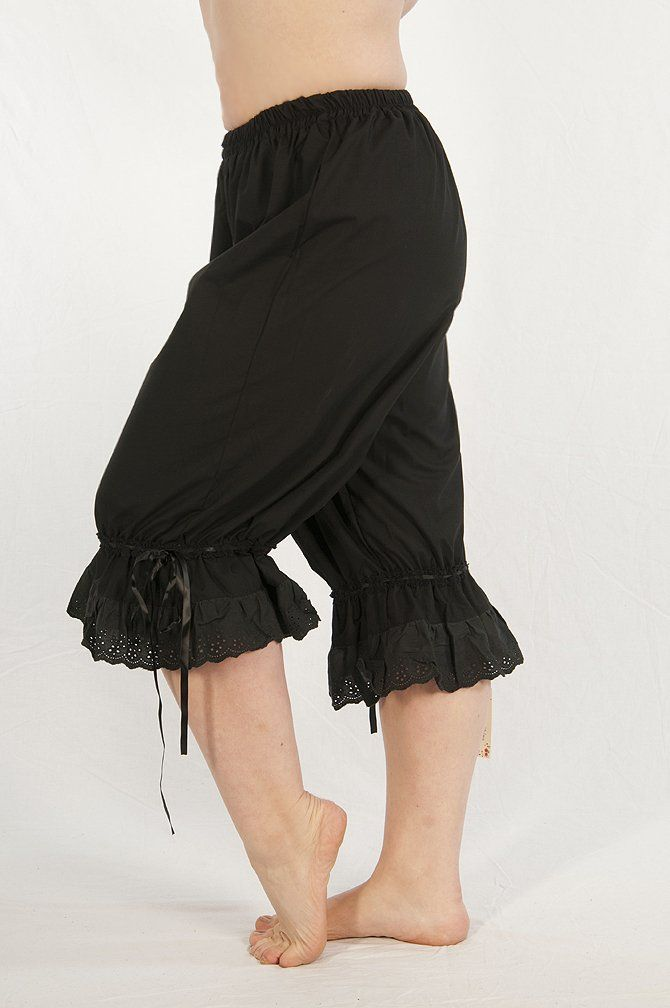 Amazon.com: Dress Like a Pirate Women's Wench Renaissance Steampunk Cotton Bloomers: Costume Accessories: Clothing