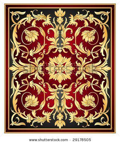 Eastern ornament vector by Olga Rutko, via Shutterstock