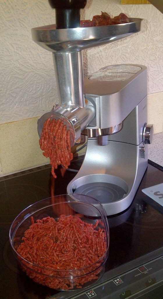 Nice lean mince. From Cooking with Corinna.