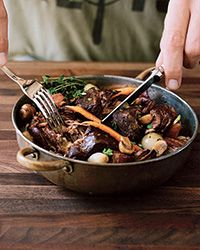 Short Rib Bourguignon Recipe - Food & Wine Magazine, November 2013.