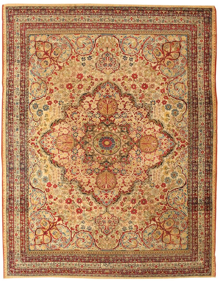 View Examples Of Antique Kerman Rugs In Our Pict Rug Guides Find A Other Styles Persian Oriental