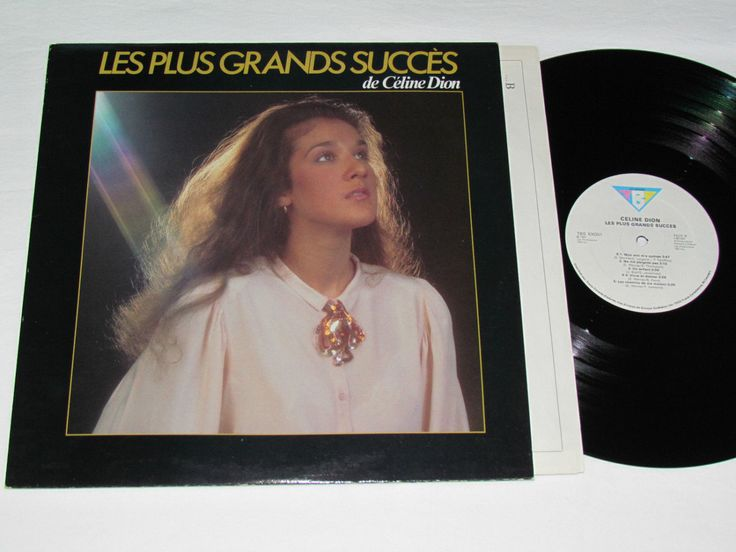 Vintage Celine Dion 1984 Les Plus Grands Succes LP Best Of Greatest Hits VG+ Céline Succès by Barostores on Etsy