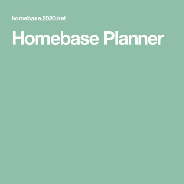 Homebase Planner. 47 best Ideas for the House images on Pinterest