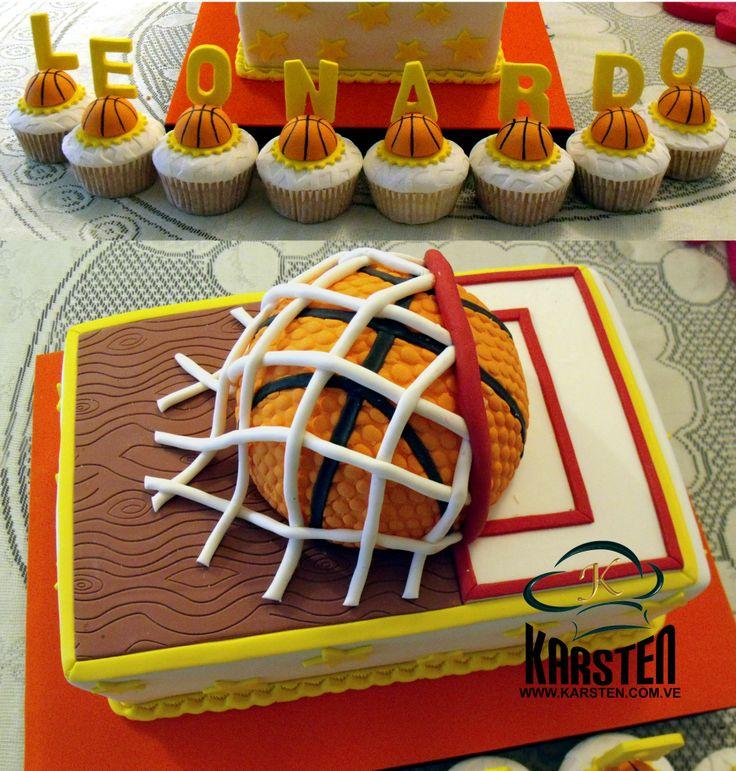 Torta De Basquet Cumplea 209 Os Pinterest