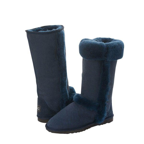 Arctic Tall Navy Blue Boots, Australian Made Sheepskin, #aussie #australianmade #sheepskin #boots #tallboots #shoedreams #comfy #cute #warm #indoors #home #outdoors #shoesaholic #navyblue #blue #navy #navyblueboots #navyboots #blueboots #styling #fashion #outfit #fashioninspiration