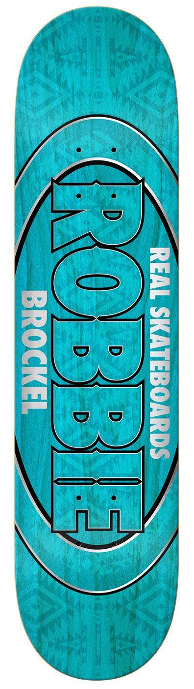 Real Skateboards BROCKEL PRO OVAL LTD ED 8.5