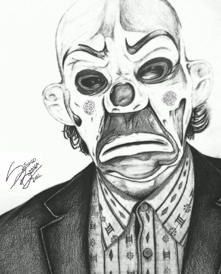 joker clown | joker (clown) mask by santiagobarriga