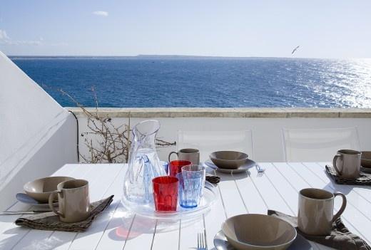 Scale 9 - panoramic seafront apartment in Gallipoli, Puglia