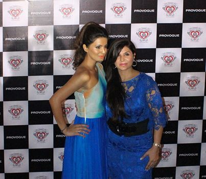 My #showstopper: Geeta Basra & me at Provogue's Fashion Friday event. #Fab night!