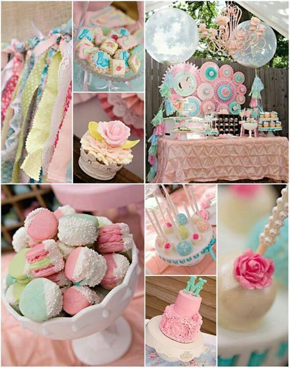 Vintage party ~ lovely pastel colours!