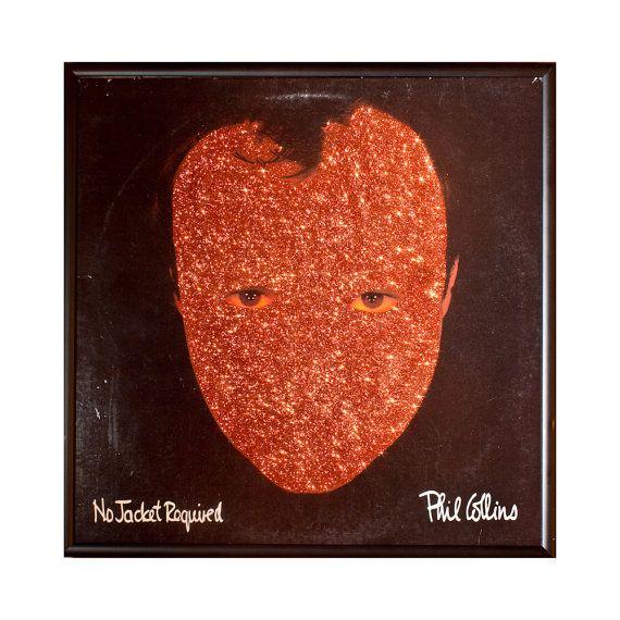 Glittered Phil Collins No Jacket Required Album