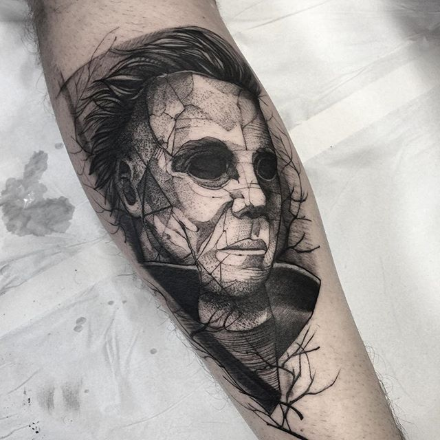 90 best images about fredo tattoo on pinterest hercules for Michael myers tattoo