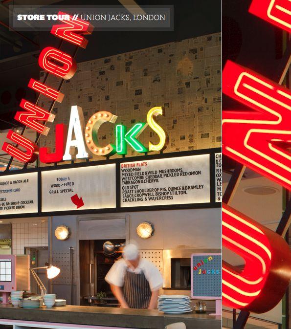 Store Tour: Union Jacks, London – Jamie Oliver