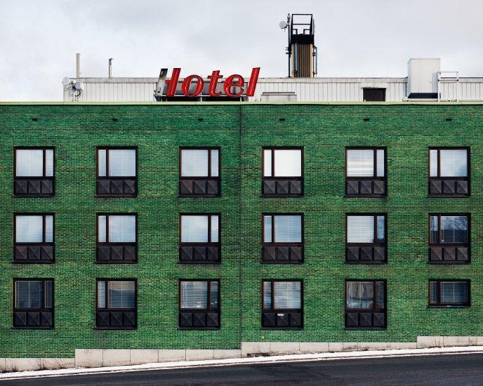 OK Motor Hotel, Stockholm, 2009  Patrick LindellPatricks Lindell, News, Green Wall, Art, Lindell Photography, Hunters Green, Patrik Lindell, Design, Hotels