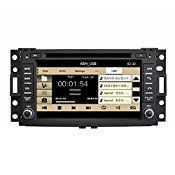 Rupse For Hummer H3/Buick Terraza/Chevrolet Corvette Uplander/Pontiac/Saturn Relay 7″ Touchscreen Monitor Car DVD Player With GPS Navigation System 2 Din