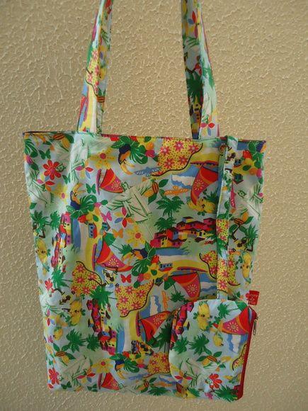 Bolsa De Praia Feita De Tecido : Melhores ideias de bolsa praia no