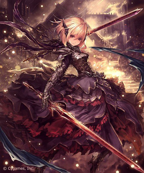anime girl with sword on Pinterest | Swords, Anime Girls and Anime
