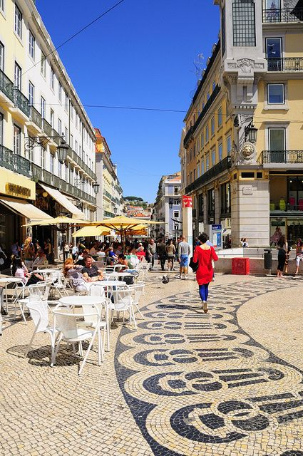Chiado. Lisbon, Portugal. by ruireb, via Flickr