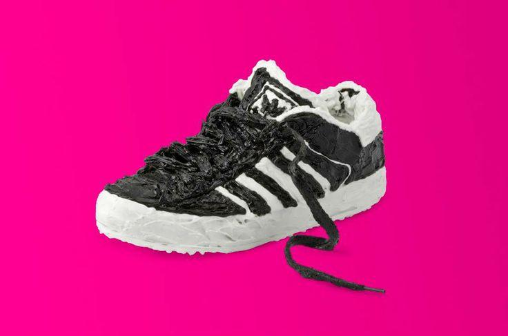 Adidas, Silicone Sculpture by Nicolas Ruston