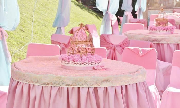Vintage Princess Party with Lots of Really Cute Ideas via Kara's Party Ideas