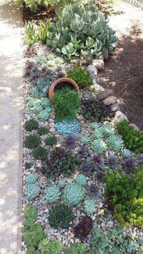 the 25 best rock garden design ideas on pinterest garden design succulent gardening and outdoor cactus garden