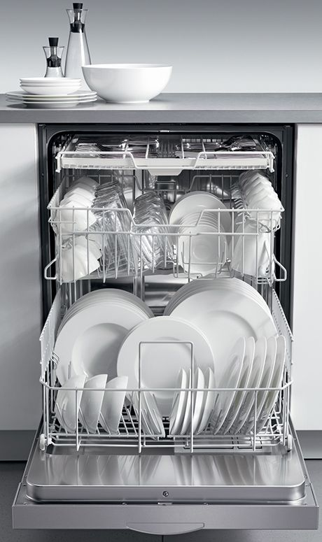 MIELE Futura Series Dishwashers --- the world's most intelligent dishwashers.