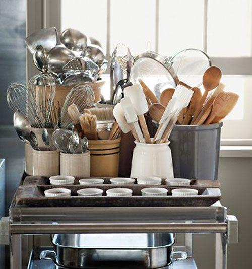 kitchen storage ideas for utensils 5 stylish kitchen storage ideas httpdecoratingfiles - Kitchen Utensil Storage Ideas