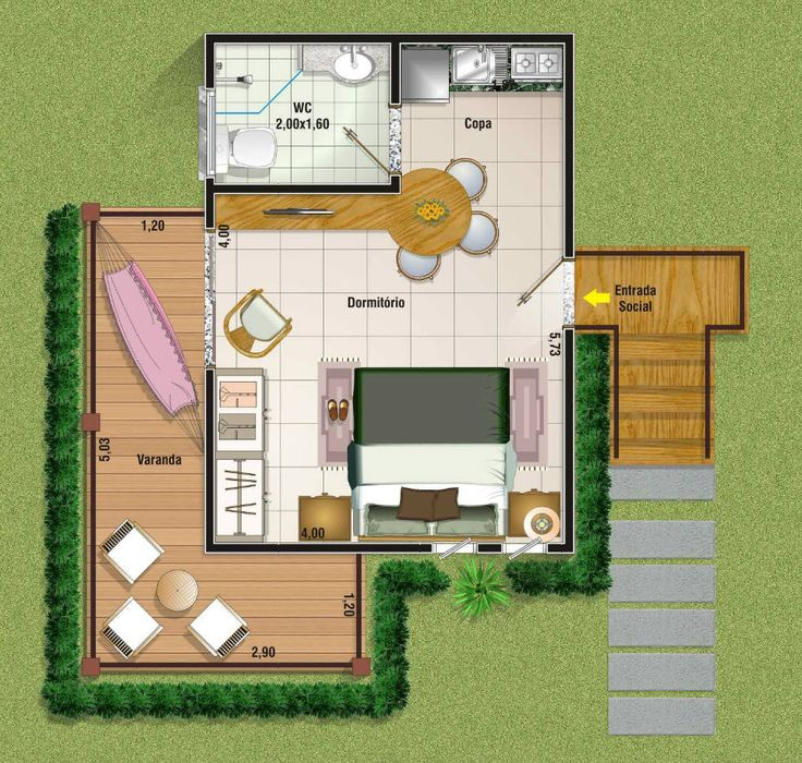 10 best planos de casas images on pinterest floor plans - Casas de campo pequenas ...