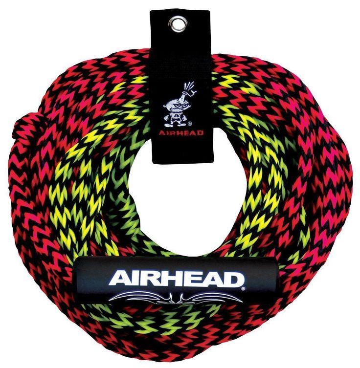 60ft Tube Tow Rope 2 Rider Two Section Float Tubing Water Sports Towable Airhead | eBay