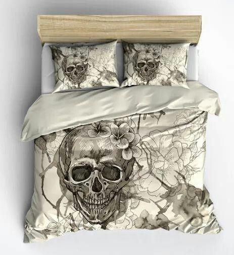 more skull bedding