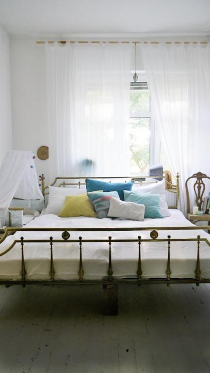 491 besten Gemütliche Schlafzimmer Bilder auf Pinterest - schlafzimmer mit metallbett