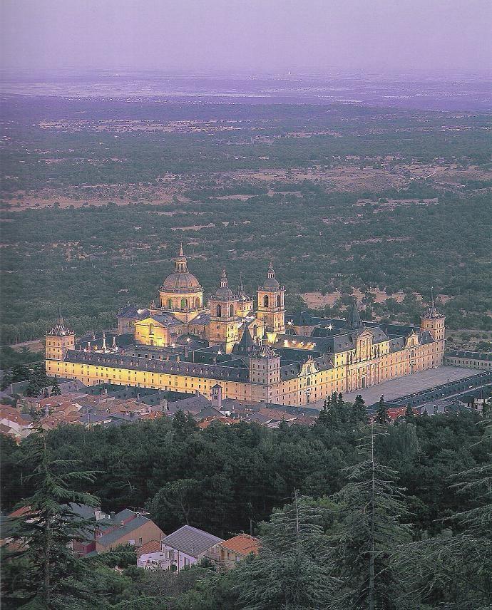 San Lorenzo de El Escorial, fue declarado UNESCO,Patrimonio de la Humanidad,  el año1984,España