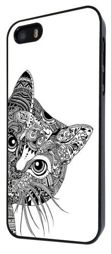 Cool Aztec Cat Cute Funky Design Fashion Trend CASE Back COVER For All iphone 4 4S , iphone 5 5S , iphone 5C , Sony Xperia Z , Xperia Z1 , Xperia Z2 , htc one M7 , Samsung Galaxy S3 , Galaxy S4 , galaxy S5 , Galaxy S3 mini , Galaxy S4 mini , Galaxy ace 1 , Galaxy ace 2 , Galaxy ace 3 , Galaxy Trend , Blackberry Z10 , ipod Touch 4 , Touch 5 Case Back Cover-Select your phone model And Frame Color from the drop box under (White, iphone 5 5S): Amazon.co.uk: Electronics