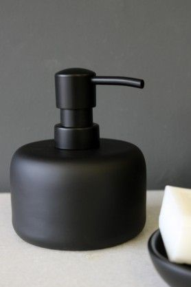 Black Soap Dispenser