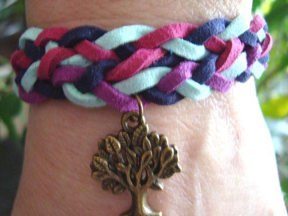 Tree of life Charm Bracelet Wish Jewelry Lucky by BiancasArt