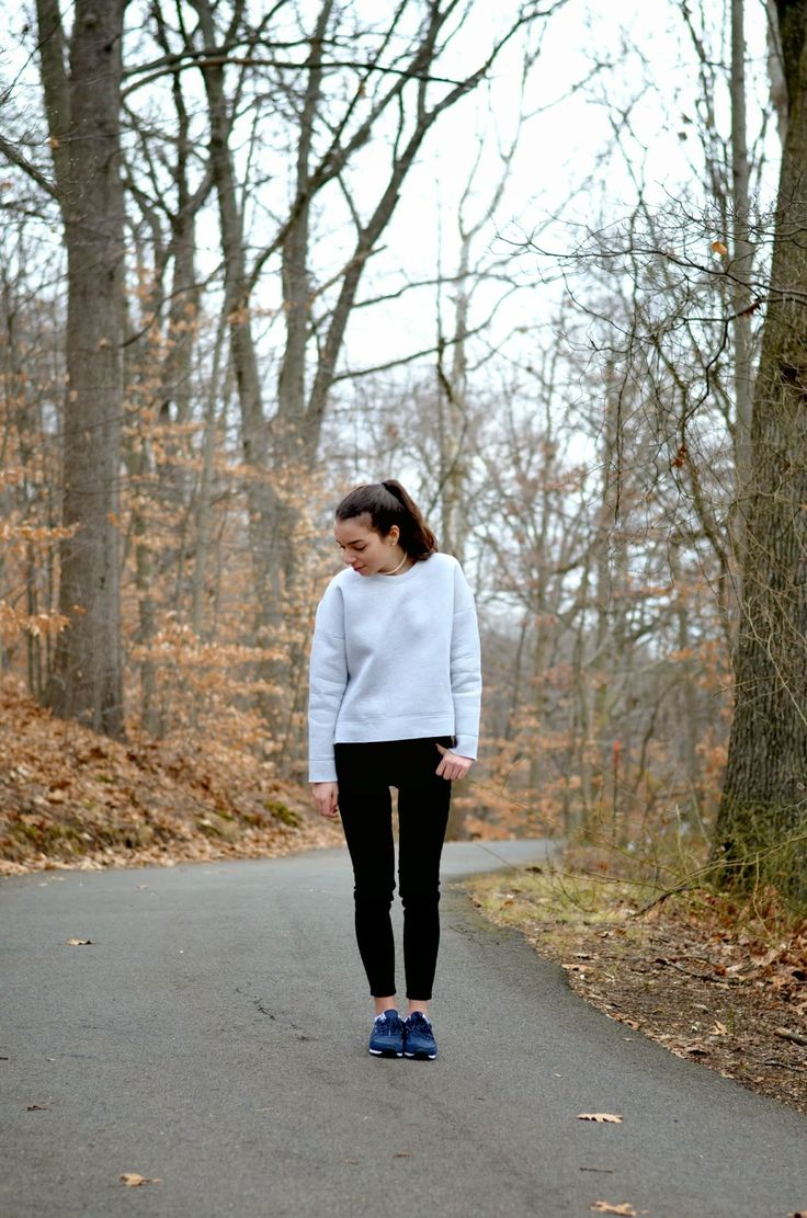 New Balances and Sweatshirts