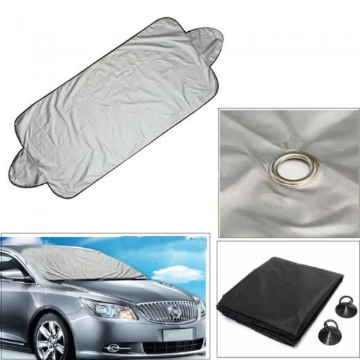 New Smart Windshield Protect Cover Uv Protection Snow Ice Frost Sun Shade Shield Aluminium Film No Warranty China Array For Most Vehicles With Measures Approx 146 X 70cm