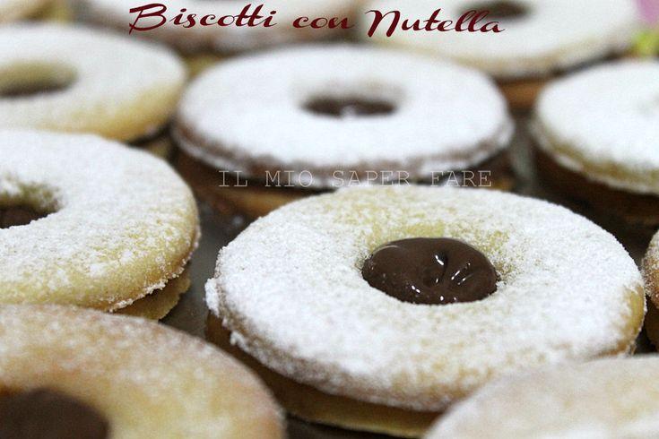 Biscotti con nutella |ricetta facile blog il mio saper fare
