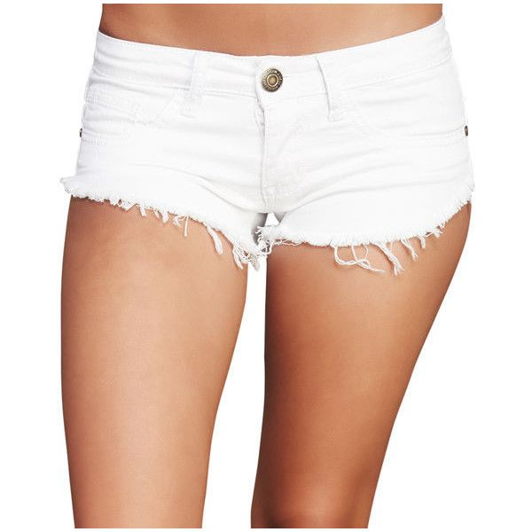 White Jean Shorts | Jeans To